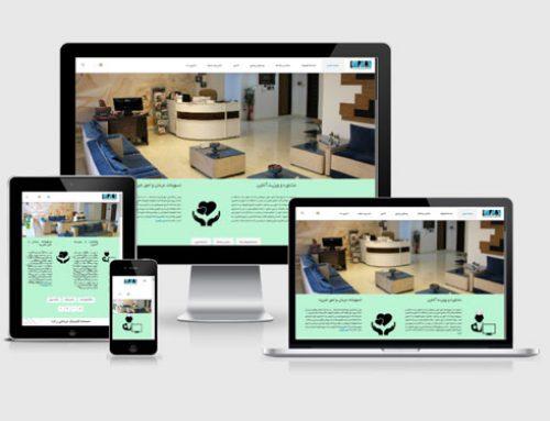 طراحی سایت کلینیکی راشا